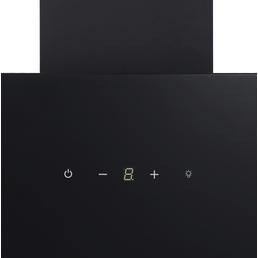RESPEKTA Schräghaube »CH24060SAM«, Motorleistung: 203 W, Edelstahl/Glas, schwarz