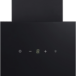 RESPEKTA Schräghaube »CH24090SAM«, Motorleistung: 203 W, Edelstahl/Glas, schwarz
