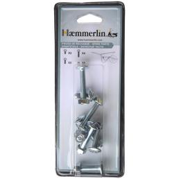 Hæmmerlin Schraubensatz, 8 mm mm, Stahl, 8 x mm