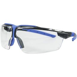 UVEX Schutzbrille »i-3«, Polycarbonat (PC), anthrazit/blau