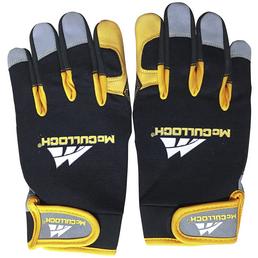 MCCULLOCH Schutzhandschuhe »mit Schnittschutz«, schwarz/gelb