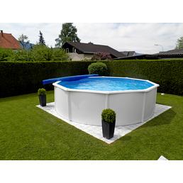 KWAD Schwimmbecken Set »Steely de Luxe «, rund