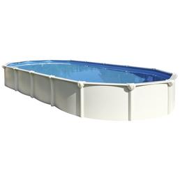 Schwimmbecken »Steely SUPREME «,  oval, B x L x H: 80 x 145 x 130 cm