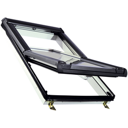 RORO Schwing-Dachfenster »«, Verbundsicherheitsglas (VSG), innen weiß, Kunststoff
