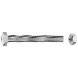 GECCO Sechskantschraube, 8 mm, Edelstahl, 4 Stück