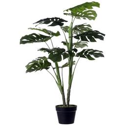 mica® decorations Seidenblume, Monstera Kunstpflanze, 4 Stück