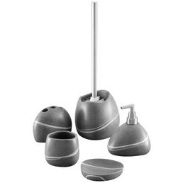 ZELLER Seifenspender, Höhe: 13,5 cm, grau