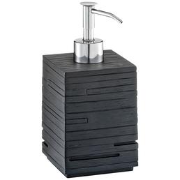 ZELLER Seifenspender »Schiefer«, Höhe: 16 cm, schwarz