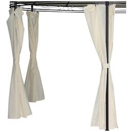 BELLAVISTA Seitenteile, beige, Breite: 184 cm, Polyester