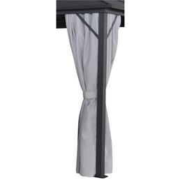 LECO Seitenteile, Breite: 400 cm, Polyester, grau