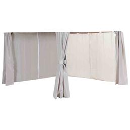 SIENA GARDEN Seitenteile »Dubai«, Breite: 296 cm, Polyester, beige