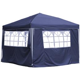 CASAYA Seitenteile für Pavillon, blau, Polyester