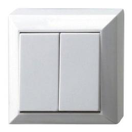 REV-Ritter Serienschalter, Weiß, Kunststoff