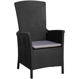 BEST Sessel »Capri«, Gestell: Kunststoff, inkl. Auflage