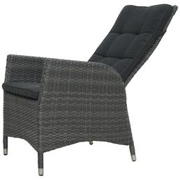 ploß® Sessel »Jardel«, Höhe: 111 cm, Polyester/ Aluminium/ Polyrattan