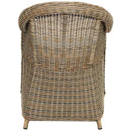 ploß® Sessel »Lambrini«, BxTxH: 67  x 60  x 87 cm, Polyester/ Aluminium/ Polyrattan