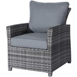CASAYA Sessel »Rios«, BxHxT: 68 x 84 x 77 cm, Aluminium/Kunststoffgeflecht/Polyester