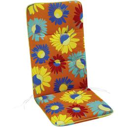 BEST Sesselauflage »Basic Line«, orange/tuerkis/blau/gelb/rot, BxL: 50 x 120 cm