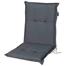 MADISON Sesselauflage »Panama«, Uni, grau, 105 cm x 50 cm