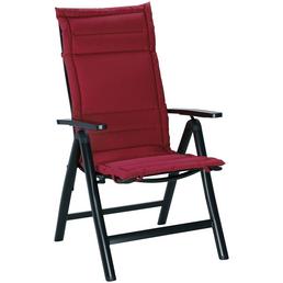 BEST Sesselauflage »Soft-Line«, rot, BxL: 50 x 120 cm