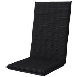 DOPPLER Sesselauflage »Star«, Hochlehner, grau, Uni, BxL: 48 x 119 cm