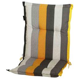 MADISON Sesselauflage »Victoria«, Niederlehner, gelb, Streifen, BxL: 105 x 50 cm