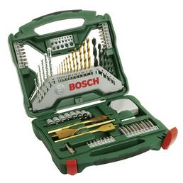 BOSCH Set: Bohrer- und Bit-Set,  Länge 236 mm/Ø , 70-teilig
