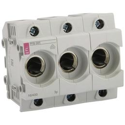 ETI Sicherungssockel, E14, 16 A, Grau, 3-polig