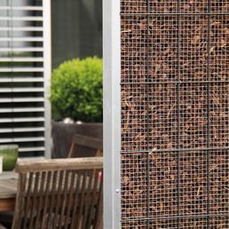 BELLISSA Sichtschutzelement »Diviso«, aus Stahl, L x H: 75 x 200 cm