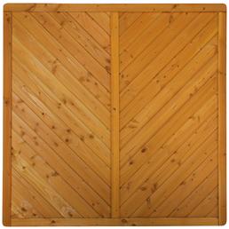 Sichtschutzelement »Westerland«, DouGlasienholz, HxL: 180 x 180 cm