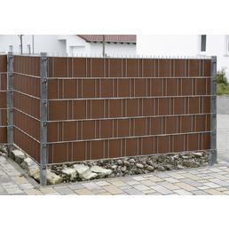 FLORAWORLD Sichtschutzstreifen »Premium« aus PVC, LxH: 201,5 x 19 cm, 10 Stk.