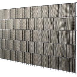 FLORAWORLD Sichtschutzstreifen »Premium«, PVC, 5 Streifen, LxH: 255 x 19 cm
