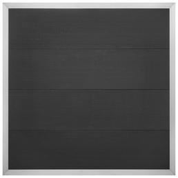 Sichtschutzzaun »Alexos«, WPC/Aluminium, HxL: 180 x 180 cm
