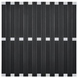 Sichtschutzzaun »Dius«, WPC/Aluminium, 1, HxL: 180 x 180 cm