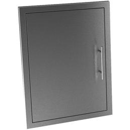 MR. GARDENER single door, BxHxT: 52,9 x 5 x 64 cm, EdelStahl