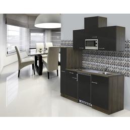 RESPEKTA Singleküche »KB 180 EYWMIC«, mit E-Geräten, Gesamtbreite: 180 cm