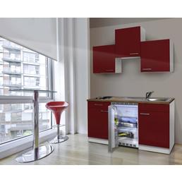 RESPEKTA Singleküche »KB150WS«, mit E-Geräten, Gesamtbreite: 150cm