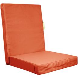 OUTBAG Sitzauflage »HighRise Plus«, Uni, orange, 50 cm x 105 cm