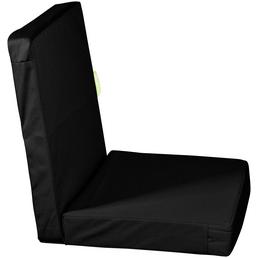 OUTBAG Sitzauflage »HighRise Plus«, Uni, schwarz, 50 cm x 105 cm