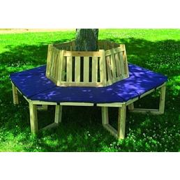 PROMADINO Sitzauflage, Uni, blau, 100 cm x 43 cm