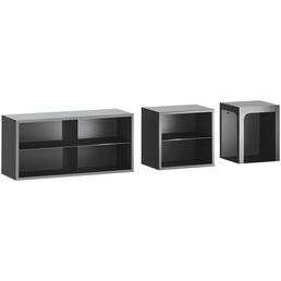 HAAS & SOHN Sitzbank, BxHxL: 48,2 x 46 x 36,5 cm, schwarz