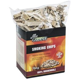 MR. GARDENER Smoking Chips, Buche, Späne bzw. Chips
