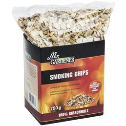 MR. GARDENER Smoking Chips, Kirschbaum, Späne bzw. Chips