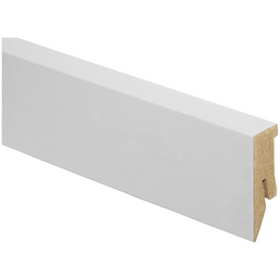 KAINDL Sockelleiste, Kiefer weiß, HDF, LxHxT: 260 x 5 x 1,8 cm