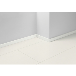 PARADOR Sockelleiste »SL 3«, Uni weiß, MDF, 257 x 4 x 1,6 cm