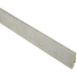 RENOVO Sockelleiste, Stein grau, MDF, LxHxT: 240 x 5,8 x 1,9 cm