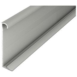 CARL PRINZ Sockelleiste, titanfarben, Aluminium, 270 x 6 x 1,3 cm