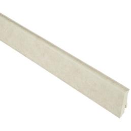 RENOVO Sockelleiste, Travertin beige, PVC, LxHxT: 240 x 5,9 x 1,7 cm