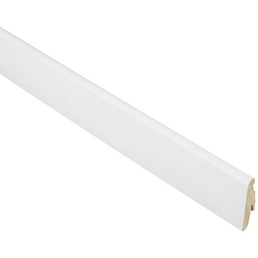 FN NEUHOFER HOLZ Sockelleiste, weiß, MDF, 240 x 5,8 x 1,9 cm