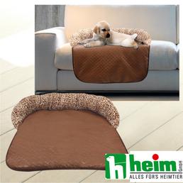 Sofa-Schutzdecke, braun